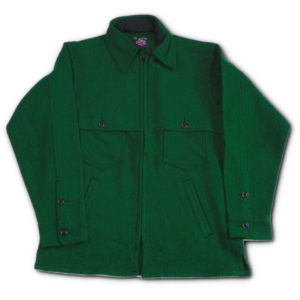 Double caped Jac Shirt - Green Twill