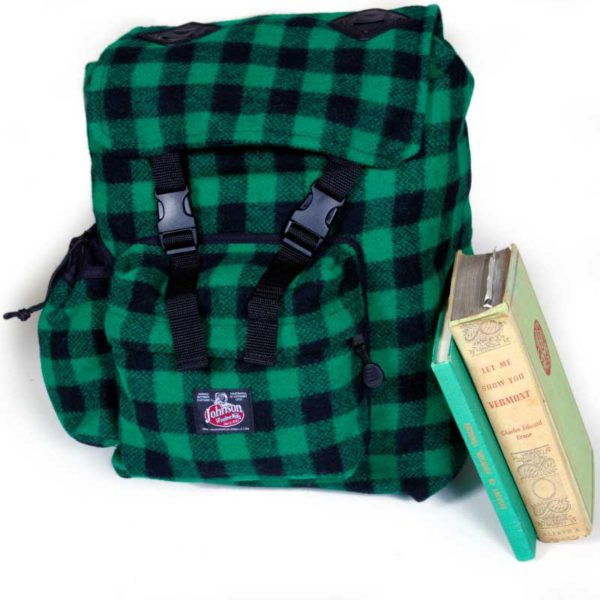 Classic Wool Backpack Woolen Day Packs