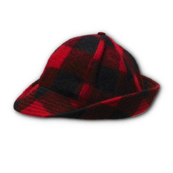 Red & Black Checked Jones Hat