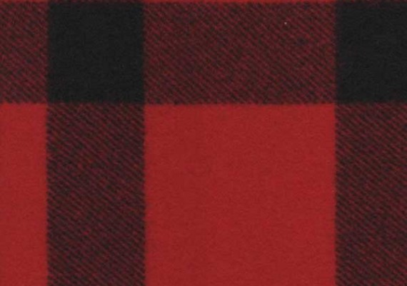 Red & Black Small Stag - Style 25