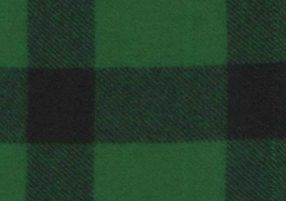 Green & Black Small Stag - Style 26