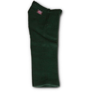 Spruce Green Wool Pants For Children