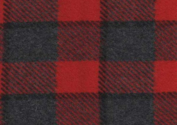 Red & Gray Plaid - Style 49