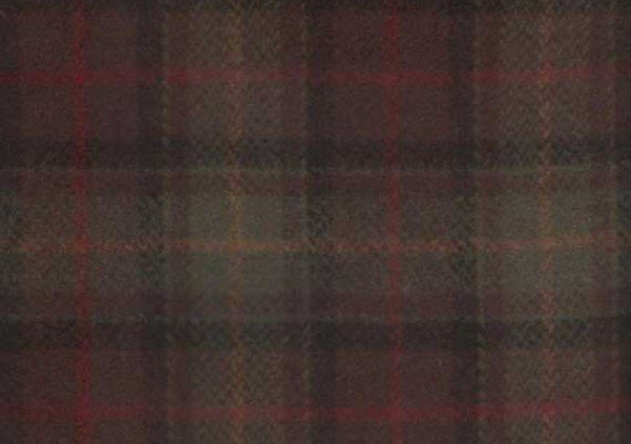 Olive & Brown Plaid - Style 84