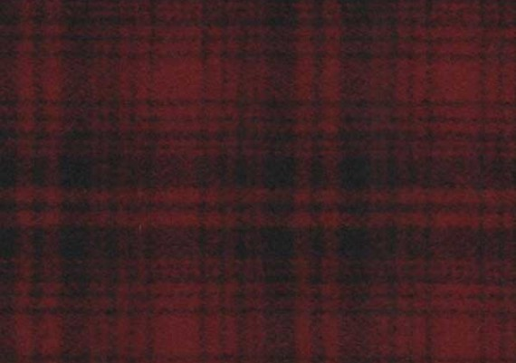 Red & Black Muted Plaid - Style 95