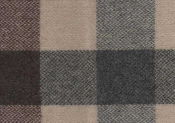 Brown & Beige Check - Style A