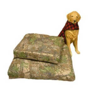 Woolen Dog Bed - Camo