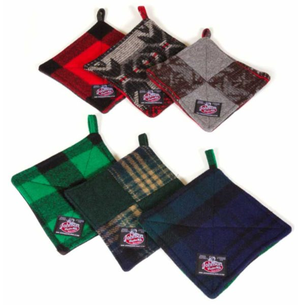 Johnson Woolen Mills Handmade Pot Holders