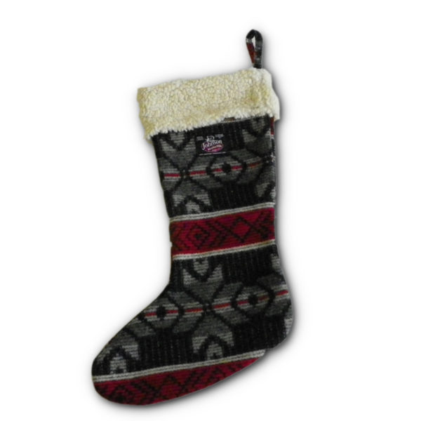 Handcrafted Holiday Stocking - Handcrafted Holiday Stocking - VIB