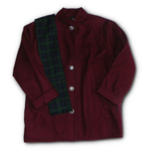 Wool Sunapee Coat - Rich Burgundy - Color Code 33