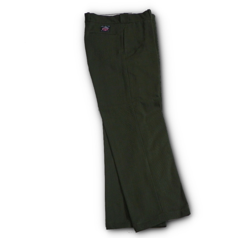 100 Whipcord Wool Pants Casual Design Woolen Fashions