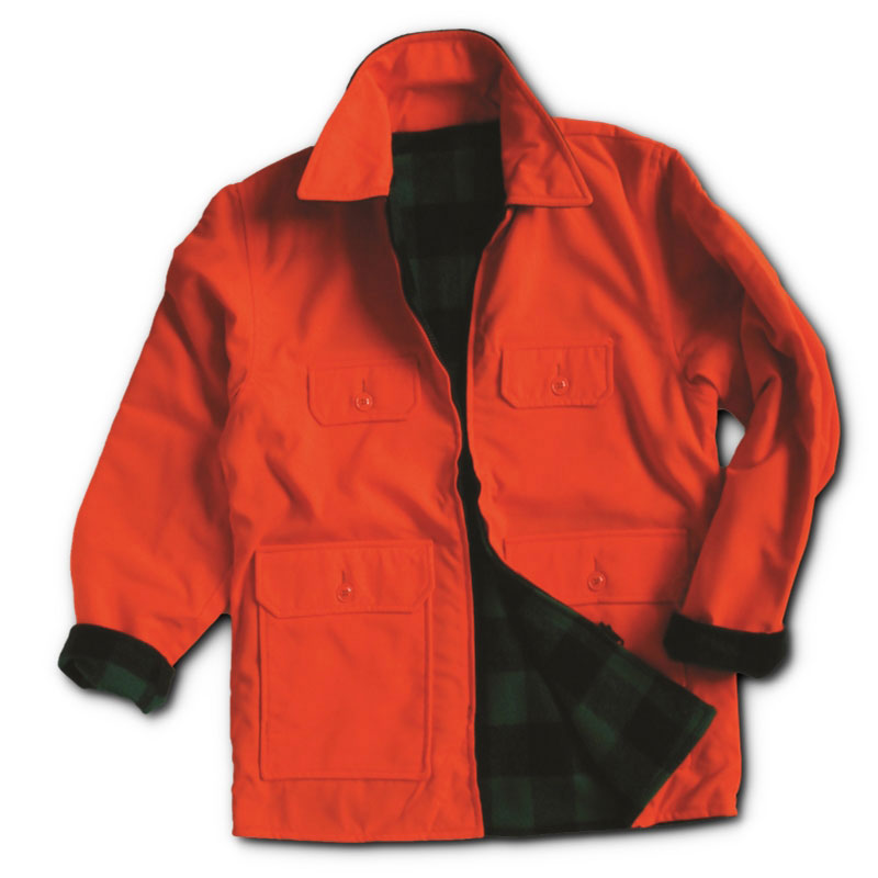 Reversible Wool Hunting Jacket Made In The Usa