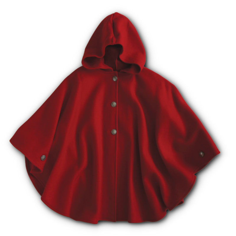 Children S Wool Cape Woolen Capes For Kids