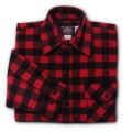 Buffalo Check – Red & Black 1″ Buffalo Check